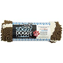 Soggy Doggy 1875 Small Slopmat, Dark Chocolate