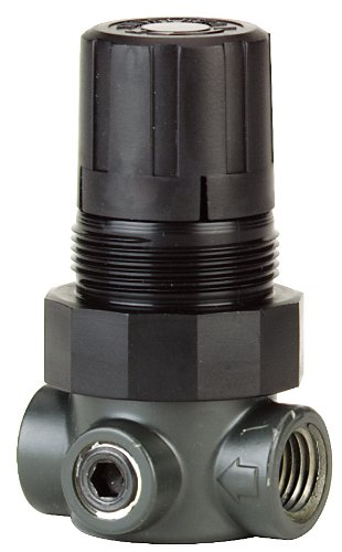 Regulators High Pressure Air (Dwyer Series MPR Miniature Pressure Regulator, Zinc Body, Air Only, Range 0-5 psi)