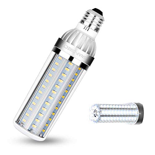 50W Super Bright LED Light Bulb 500 Watt Equivalent E26 5400 Lm 6500K LED Bulb Daylight Brightest Corn Light for Office House Outdoor Garage Commercial Ceiling Warehouse Factory Barn
