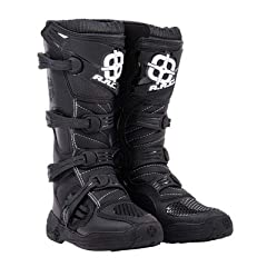 The Corona boot is a quality motocross boot at an incredible value. Top quality features include durable micro-fiber construction with injection molded plastic protection pieces. The tough molded sole ensures great grip on or off the bike. Fu...