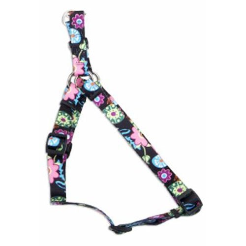 Coastal Pet 66445 A WDF24 Pet Harness, 5/8-Inch, Wildflower