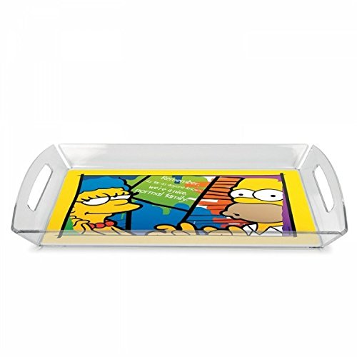 The Simpsons LTS62R/4 Vassoio, Multicolore