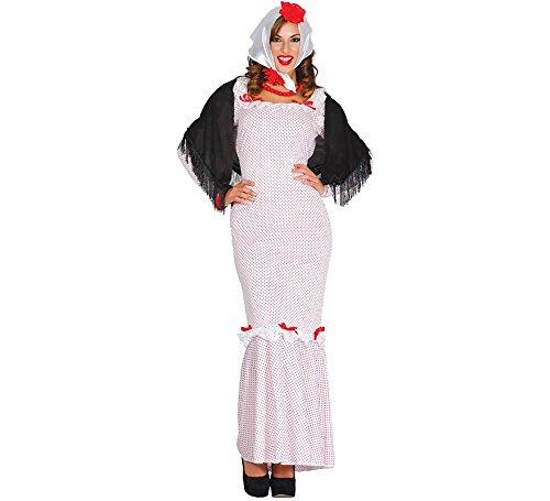 Disfraz de Chulapa Madrileña para mujer: Amazon.es: Juguetes ...