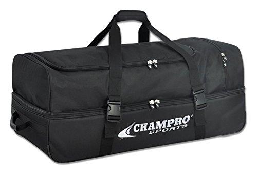 Champro Catcher /審判機器バッグ B00ARP3YYC ブラック
