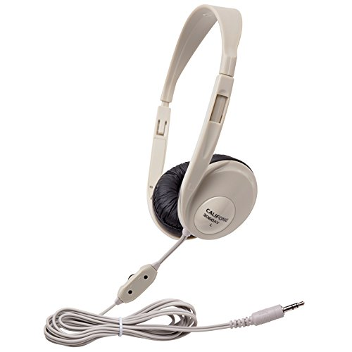 Califone 3060AV Multimedia Stereo Headphones w/ Volume Control ()