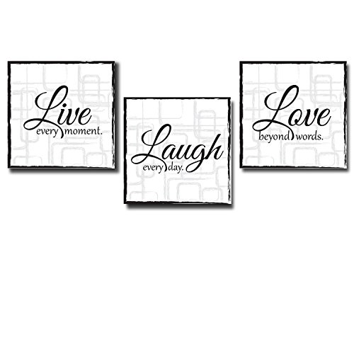 Live Laugh Love Stretcher Beautiful product image