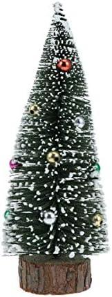 Amosfun – Decorazioni per Albero di Natale in Miniatura, 15 cm, Ferro, Immagine 1, 20 cm