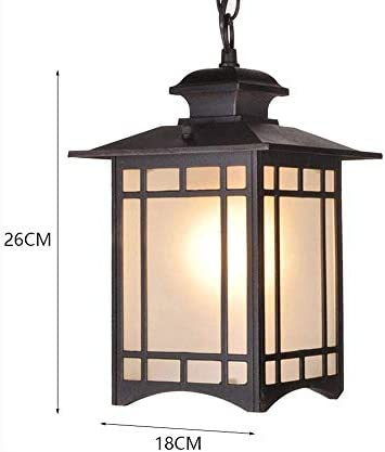 Aaedrag - Lámpara de Techo Colgante de Cristal E27 con Forma de ...