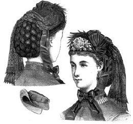 Civil War Colonel Costumes (1870 Louise Bonnet)