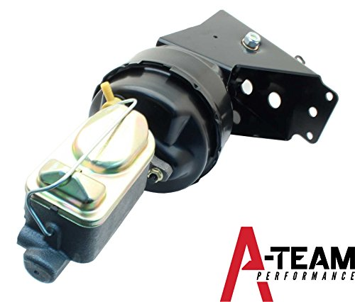 A-Team Performance 1966-1977 Ford Bronco Power Brake Conversion Kit Firewall Mount Disc/Drum or Disc/Disc Drum/Drum