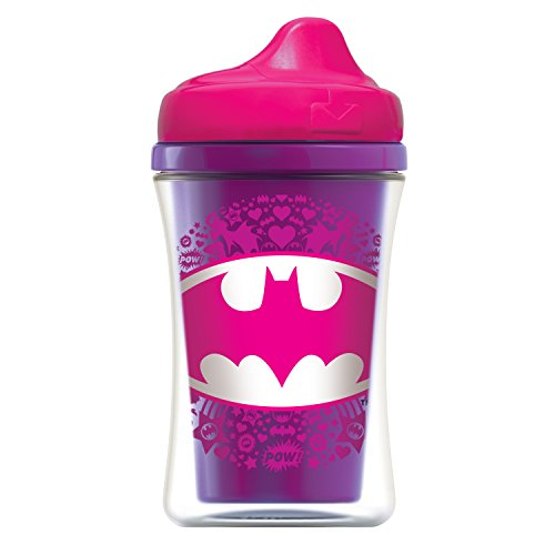 NUK Insulated Sippy Cup, Batgirl & Wonder Woman, 9oz -