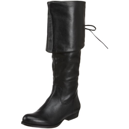 B. MAKOWSKY Women's Bfsabrina Boot,Black,8 M (Makowsky Black Leather)