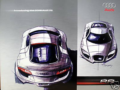 2008 Audi R8 sports coupe new vehicle flyer