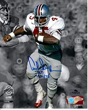 8bac8c0cd1b Archie Griffin Autographed Signed Auto Ohio State Buckeyes Spotlight 8x10  Photograph H.T. 1974 75 -