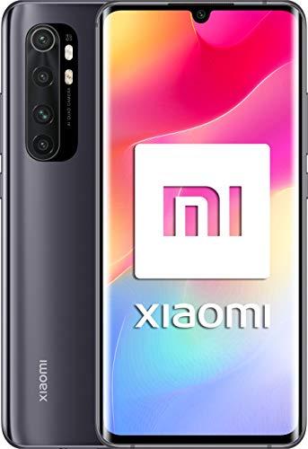 Xiaomi Mi Note 10 Lite, Pantalla FHD+ 6.47″, 6GB + 128GB, Cámara 64MP, Snapdragon 730G, Dual 4G, 5260mAh con carga rápida 30W, Android 10, Negro, Versión Española