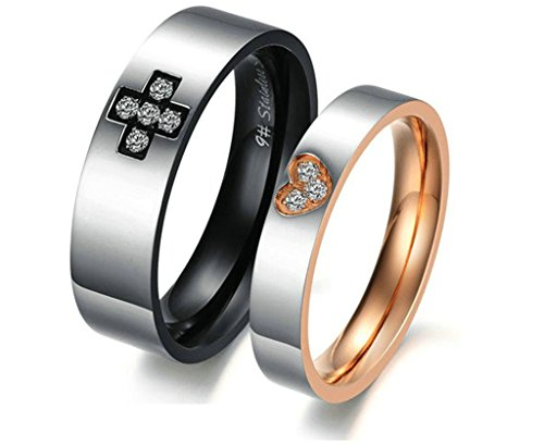 daesar-womens-wedding-bands-stainless-steel-cross-heart-cubic-zirconia-rings-for-couples-size-8