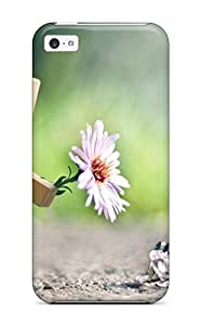 RLMlReH29364kuvkK Case Cover Cute 3d Flower Iphone 5c Protective Case