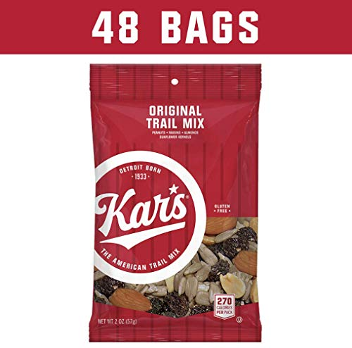 Kar's Nuts Original Trail Mix Snacks - Bulk Pack of 2 oz Individual Single Serve Bags (Pack of 48)