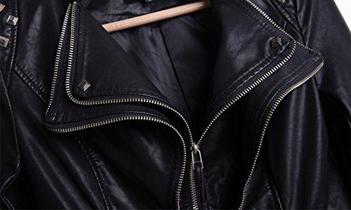 Chouyatou-Womens-Fashion-Studded-Perfectly-Shaping-Faux-Leather-Biker-Jacket