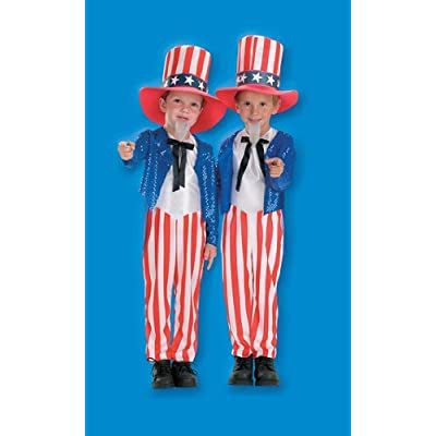 Halloween FX Uncle Sam Child Costume (4-6): Toys & Games