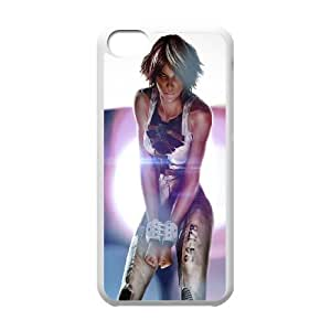 iPhone 5c Cell Phone Case White Handcuffed girl LSO7964597