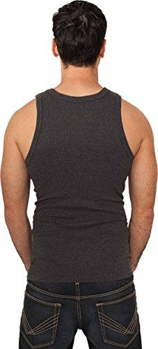 Urban Classics - Camiseta de tirantes - para hombre gris oscuro