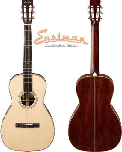 Eastman E20 Parlor Traditional Flattop Acoustic Guitar ()