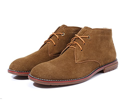 Minitoo - Botas Chukka hombre, color marrón, talla 41