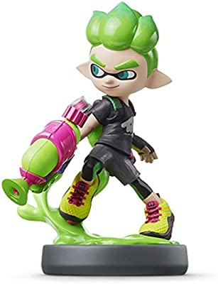 Amiibo Boy (Neon Green) Splatoon (Wii U / Nintendo 3DS, Japan ...