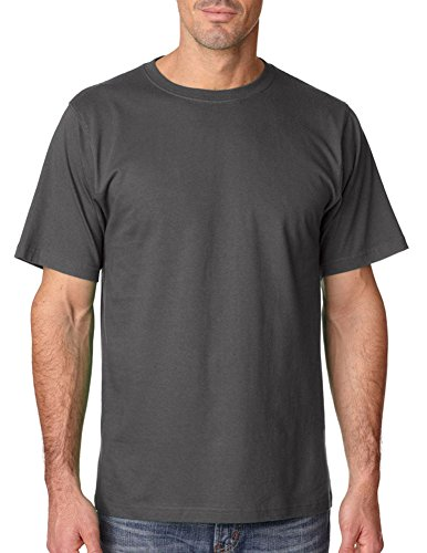 (Anvil Adult Comfort Shoulder Tape Heavyweight T-Shirt, Chrcl,)