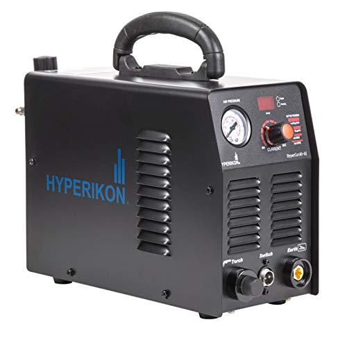 Hyperikon Plasma Cutter, 10 40 Amp, PT 31 LG40 Cutting Torch, 1/2 Inch Clean Cut