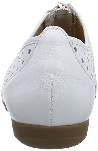 White Femme Mocassins Blanc Gabor Gibson Gabor Gibson IqP6PYf
