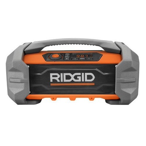 Ridgid R84087 GEN5X 18-Volt Jobsite Radio with Bluetooth Wireless Technology