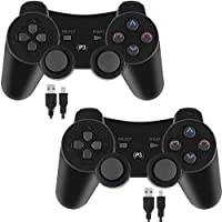 Kolopc 2 Packs Wireless Controller Gamepad Remote for PS3...