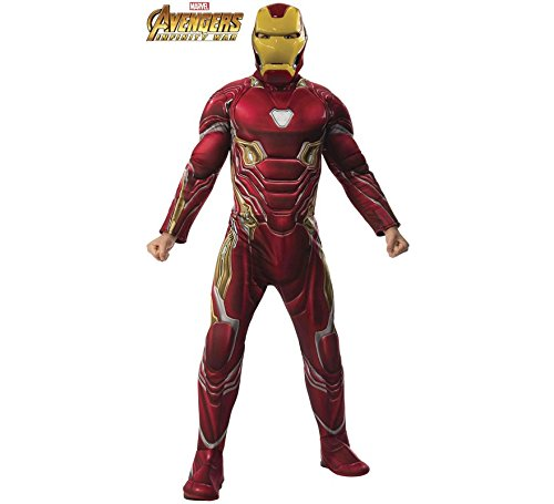 Rubie's Costume Deluxe Iron Man Adult Costume Adult Standard -