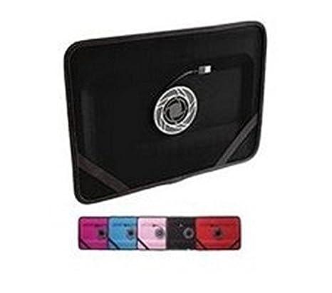 CoolTouch ordenador portátil con ventilador, color rosa: Amazon.es: Oficina y papelería