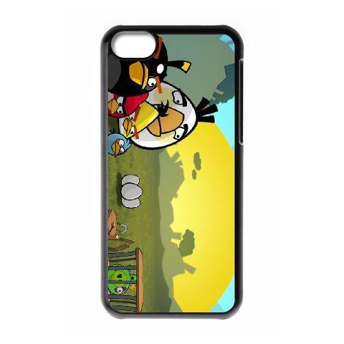 Angry 012 coque iPhone 5c cellulaire cas coque de téléphone cas téléphone cellulaire noir couvercle EEEXLKNBC26904