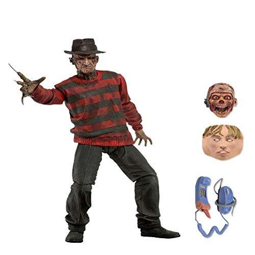 PLAYER-C 3D Friday The Jason Leatherface Chainsaw Ultimate Michael Myers Freddy Krueger Pennywise Joker Action Figure
