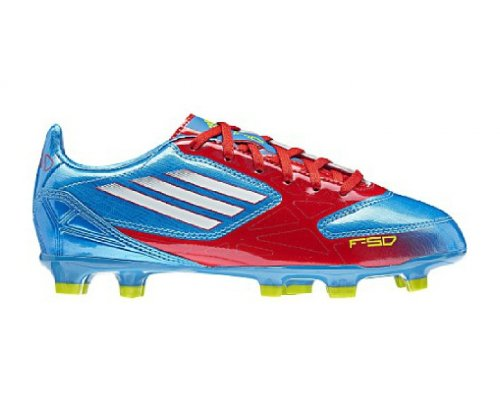official photos d4ac0 3f306 ADIDAS F10 TRX FG Junior Football Boots, Blue Red, UK5.5  Amazon.co.uk   Shoes   Bags
