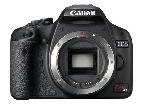 Canon EOS Kiss X3 15.1 MP CMOS Digital SLR Camera (Body Only) - International Version (No Warranty)