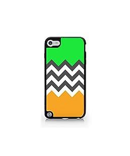 Chevron Pattern - Pastel Pattern - iPod Touch Gen 5 Black Case (C) Andre Gift Shop