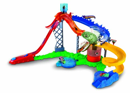 Hot Wheels Colour Shifters Piranha Attack Playset