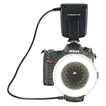 NEEWER カメラ/一眼レンズカメラ用 接写専用ストロボ LED 32球 マ...
