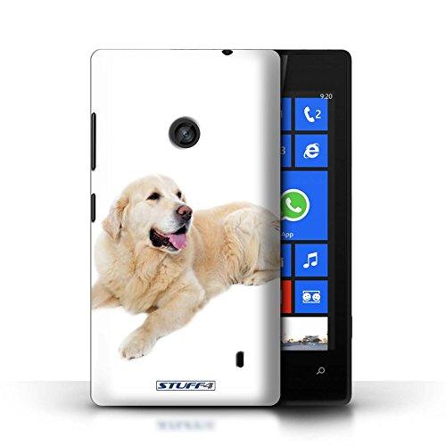 Etui / Coque pour Nokia Lumia 520 / Labrador conception / Collection de Chiens