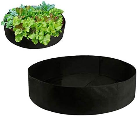 UPKOCH Gartenblume Wachsen Tasche Filz Pflanzbeutel Angehoben Gartenbett Gemüse Sämling Tasche Pflanzer Topf für Pflanzen Blumengemüse