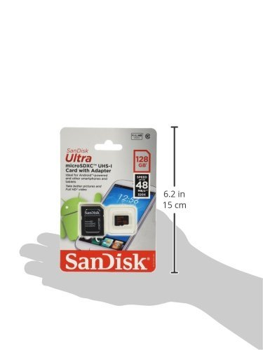 619659112721 - SanDisk Ultra 128GB MicroSDXC Class 10 UHS Memory Card Speed With Adapter (SDSDQUA-128G-G46A) carousel main 2
