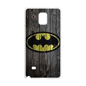 Samsung Galaxy Note 4 Cell Phone Case White_Batman_001 U6J9R
