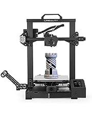 Creality 3D CR-6 SE ترقية طابعة عالية الدقة 3D DIY كيت الطباعة الحجم 235 * 235 * 250MM مع 4.3in HD اللون لمس الصامت اللوحة 8G SD بطاقة PLA عينة Fialment دعم الإستواء السيارات