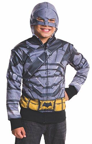 [Rubie's Costume Batman v Superman: Dawn of Justice Armored Batman Child Hoodie, Small] (Aquaman Halloween Costumes)