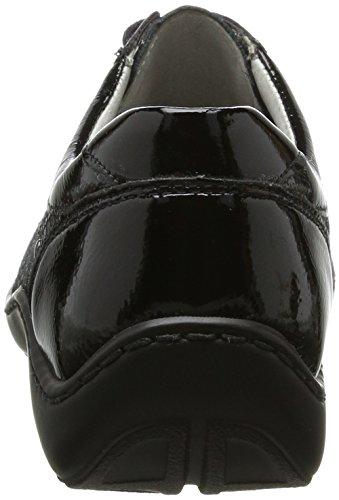 Mehrfarbig Taipei Zapatos 5X Derby Anthrazit Mujer WaldläuferHenni Schwarz Pito 71tPwW